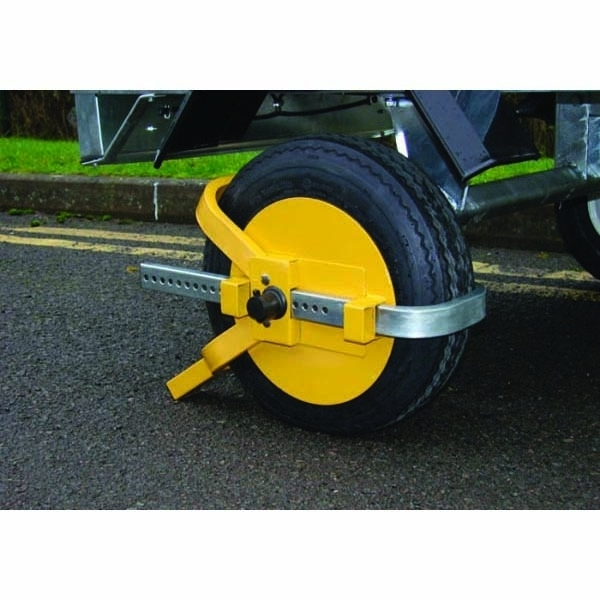UNIVERSAL WHEEL CLAMP - 8-10""