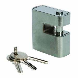 CLOSE ARMOURED SHUTTER LOCK PADLOCK 80MM