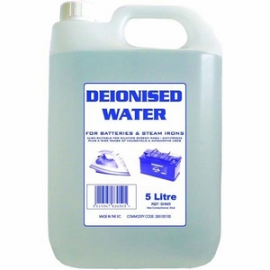 DE - IONISED WATER - 5 LITRE