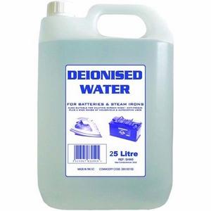 DE - IONISED WATER - 25 LITRE