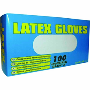 LATEX GLOVES (INDUSTRIAL 'A' GRADE) SIZE LARGE
