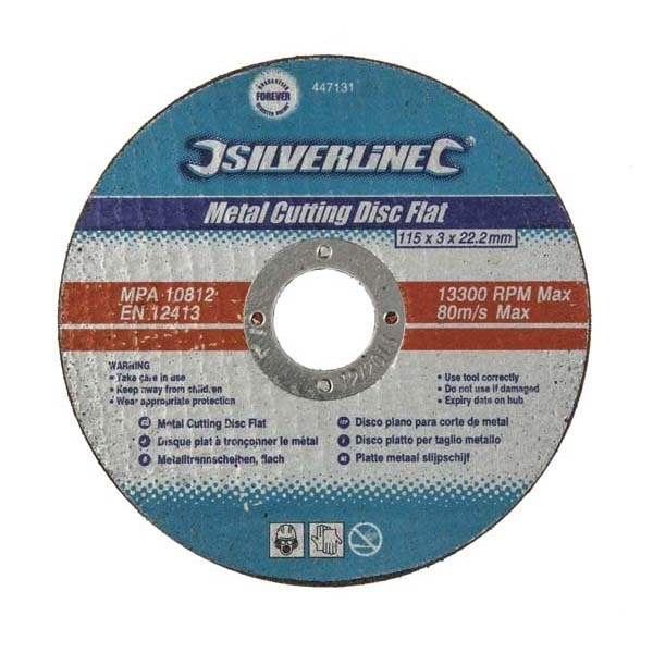 """115MM (4.5"""") METAL GRINDING DISC - SINGLE"""