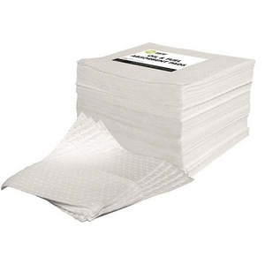 STANDARD OIL AND FUEL ABSORBENT PADS (100 PK) - 400MM X 500MM