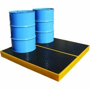 OIL-STORE BUNDED WORKFLOOR - 240 LITRE CAPACITY - 160 X 160 X 15CM