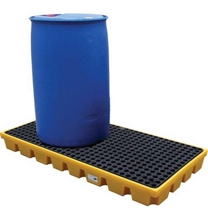 OIL STORE BUNDED WORKFLOORS - 120 LITRE CAPACITY - 1260 X 86 X 15CM