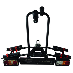 TOW BALL MOUNTED CYCLE CARRIER (CARRIES 2 CYCLES)