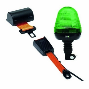SEAT BELT INDICATOR – FLEXI POLE MOUNT LED BEACON C/W FLEXIBLE RECEIVER