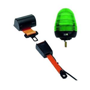 SEAT BELT INDICATOR - SINGLE BOLT LED BEACON C/W FLEXIBLE RECEIVER