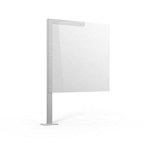 SIGN POST SAFETY SHIELD 700MM (W) X 700MM (H) SQUARE