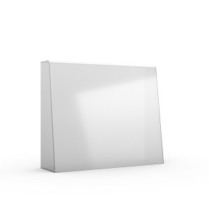 DESK TOP SAFETY SCREEN 700MM (W) X 950MM (H) - TALL