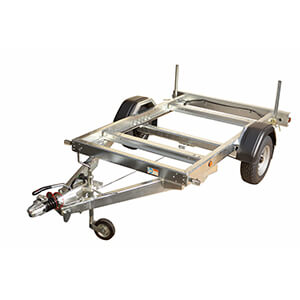1500kg Single Axle Rolling Chassis Trailer