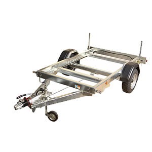 1800kg Single Axle Rolling Chassis Trailer