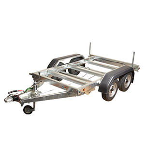 2700kg Tandem Axle Rolling Chassis Trailer
